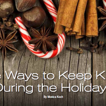 five ways to keep klean during the holidays